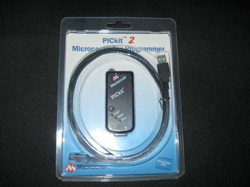 PICkit 2 Microcontroller Programmer Microchip with software