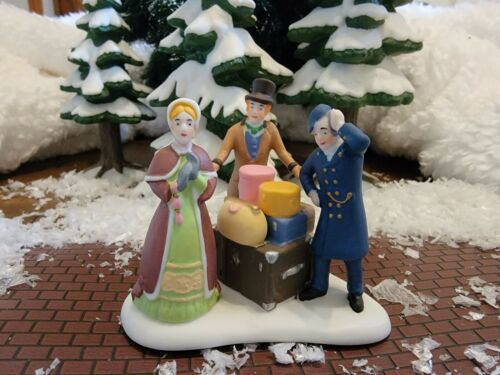 Dept 56 Dickens Village -Continental Tour or London
