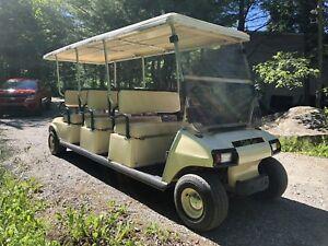 Golf Cart à Gaz Limousine