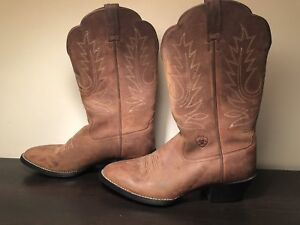 Ariat Cowboy boots , cowgirl boots women's caramel brown