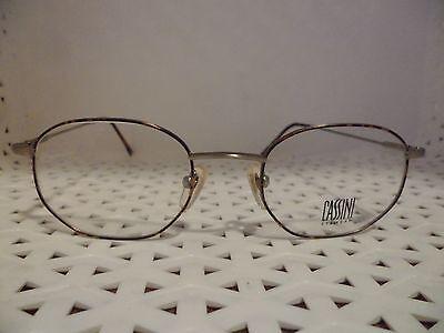 Cassini Eyewear 1090 Havana Vintage 80's Womens Eyeglasses  (TF11 @