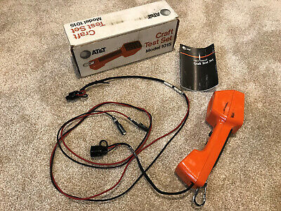 Att Telephone Phone Craft Test Set Model 1015 Tester