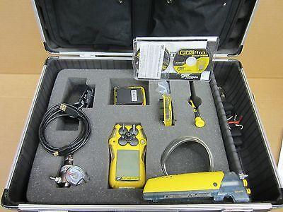 Honeywell Gasalert Quattro 4 Gas Monitor With Ga-sp01 Motorized Sampling Pump