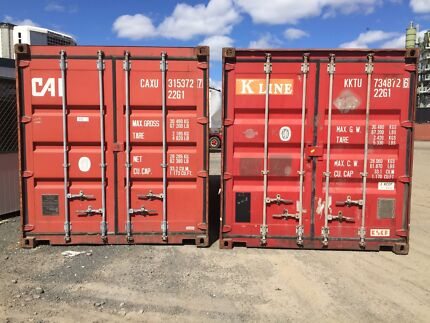 20 FT SHIPPING CONTAINERS FREE DELIVERY Wendouree Ballarat City Preview