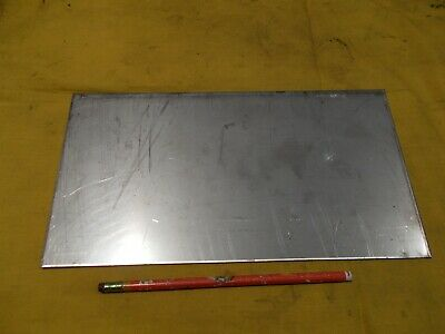 12ga 304 Stainless Steel Sheet Stock Bar Flat Plate .105 X 6 38 X 12