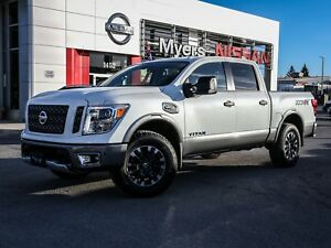 2017 Nissan Titan pro 4x, leather nav
