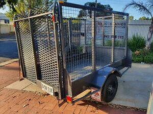 HIRE: 8x5 full cage W/ramp Holden Hill Tea Tree Gully Area Preview