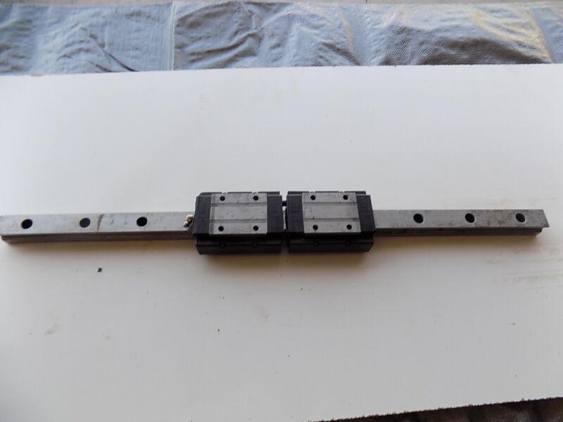 ROUNTER CNC LINEAR ACTUATOR slide rail 24 in long THKSBW25 bearing block A8