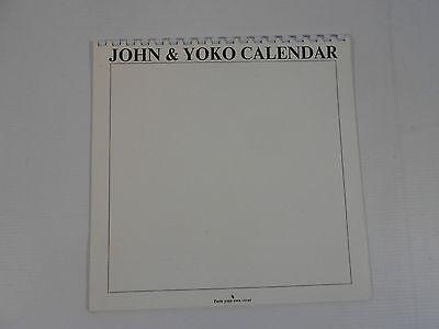 3C3 John and Yoko calendar 1970