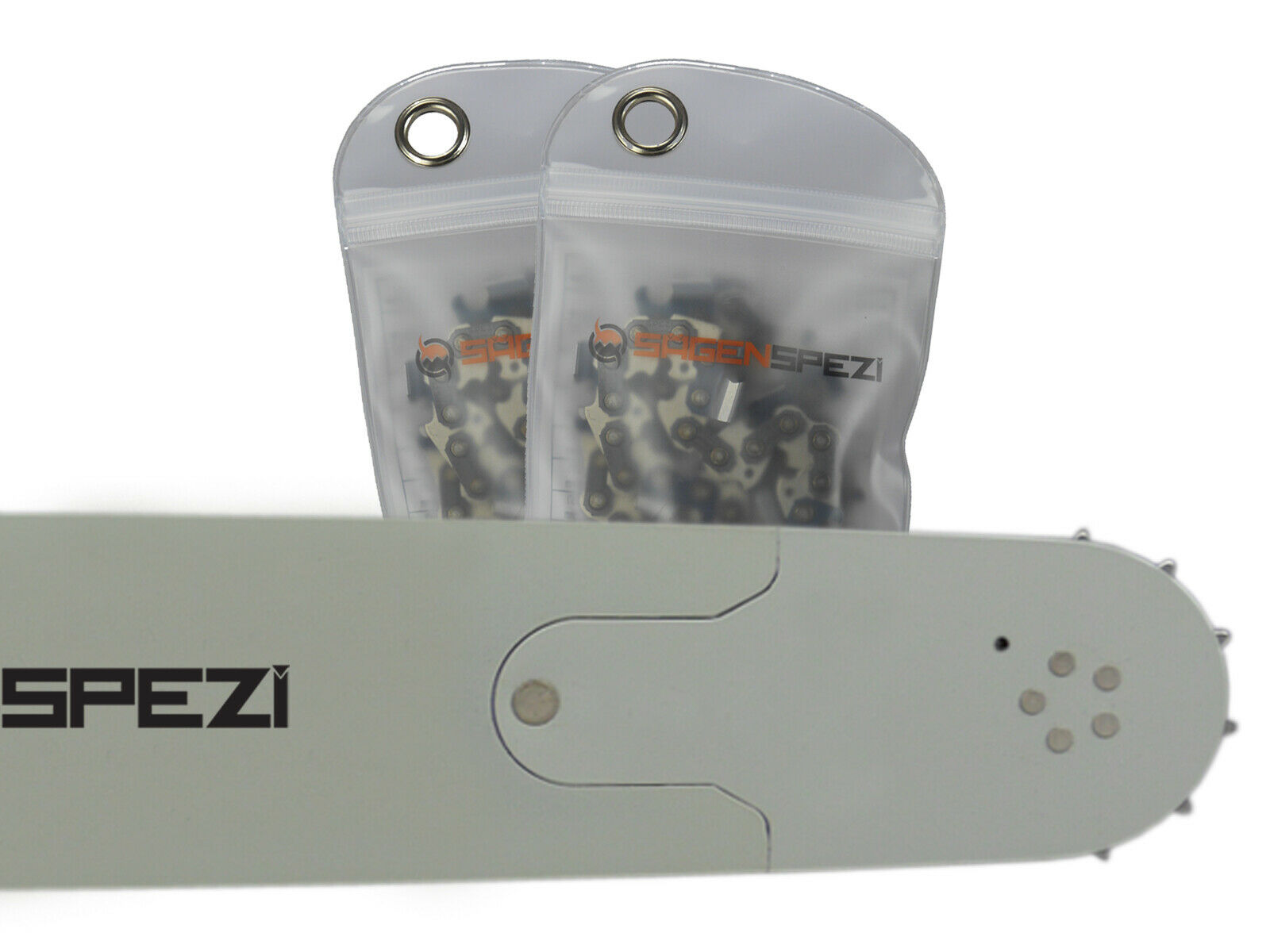 """Schwert 2 Ketten passend für Husqvarna 357 55 cm 3//8/"""" 76 TG 1,5 mm Sägekette"""
