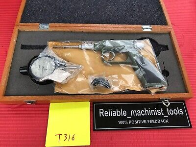 New Japan Made Mitutoyo Dial Gun Groove Gage 0-1 In Machinist Tool T316