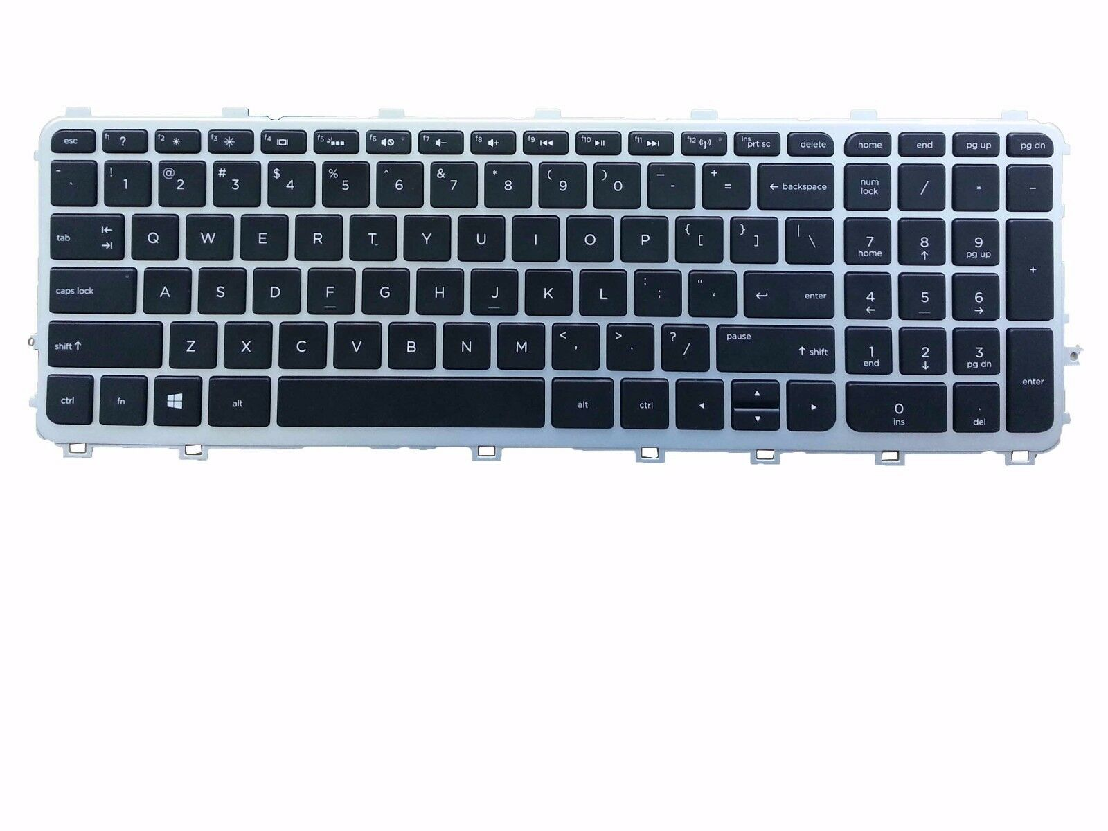 GinTai US Keyboard W//Frame Replacement for HP Envy TouchSmart 17-j182NR 17-j173CA 17-j186NR 17-j140US