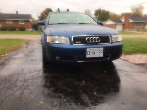 Need gone by Friday Audi A4 awd