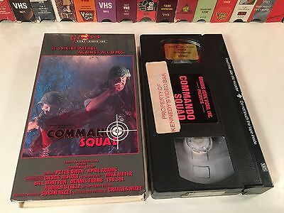 * Commando Squad aka Mission: Africa Rare VHS 1968 WWII War Action Genesis Video