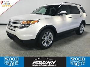 2014 Ford Explorer Limited 7 PASSENGER, POWER FOLDING 3RD ROW...