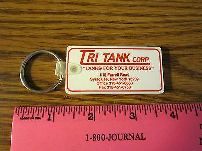 Syracuse Ny Tri Tank Corp  Key Ring Keychain Key Fob