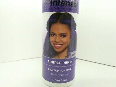 Dark and Lovely Go Intense Color Sprays, Purple Reign Makeup for hair 2 oz