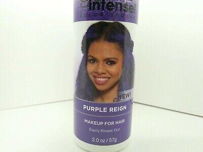Dark and Lovely Go Intense Color Sprays, Purple Reign Makeup for hair 2 oz Dye - Purple Hair Spray Dye