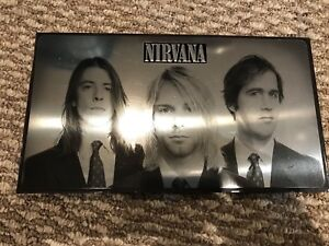 Nirvana box set.  As new!  3 discs and dvd