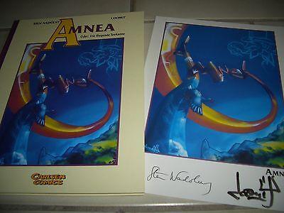 Sten Nadolny / Loomit , Amnea , mit signiertem DRUCK / Carlsen Comics / Luxus /3