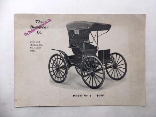 ORIGINAL THE BUGGY CAR CO. BROCHURE