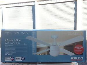Arlec 120cm 4 blade fan with oyster light South Grafton Clarence Valley Preview