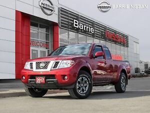 2017 Nissan Frontier PRO-4X RARE TRUUCK ONE OWNER LOW KM'S
