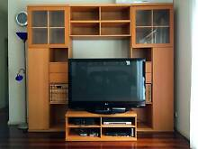 Living Room Storage Combination Cabinets +shelf +TV Unit IKEA Sydenham Marrickville Area Preview