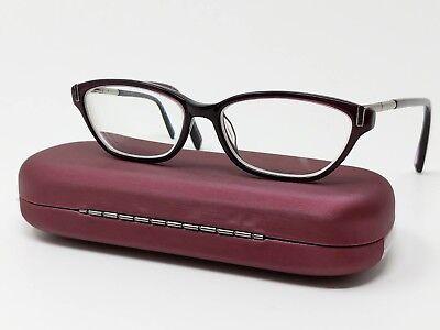 Jones New York Eyeglass Frames J223 Purple Plastic Full Rim 49[]14-130