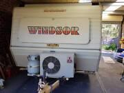 Classic Retro Windsor Caravan Craigburn Farm Mitcham Area Preview