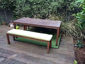 Outdoor wooden furniture set Bentleigh Glen Eira Area Preview