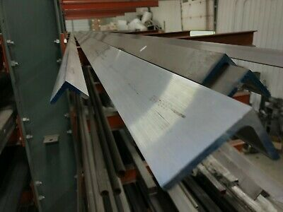 6061 T651 Aluminum Angle 2x 3x 60 Long 14 Thick