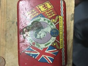 Old collectors tin