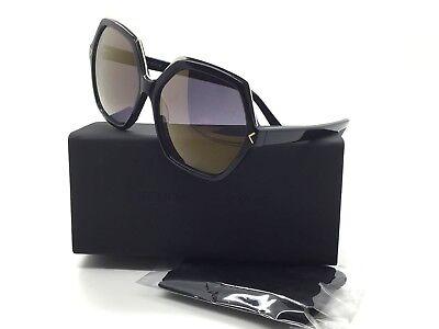 Kendall + Kylie Ludlow KK5004 001 Shiny Black Sunglasses flash violet lens (Cheap Sunglass Brands)