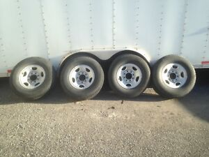 8 bolt gmc/Chevy wheels and tires