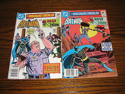 DC- BRAVE and the BOLD #188 and #189 Comic Lot!! 1982  VG/FN