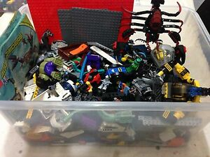 Box of Lego incl minifigures & instructions Norwood Norwood Area Preview