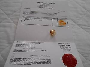 Lovely Large Heavy Solid Yellow Gold Ring - As NEW Ferny Hills Brisbane North West Preview