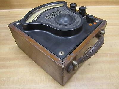 General Electric 3159302 Vintage Industrial Ac Amp Meter Wo Lid Antique