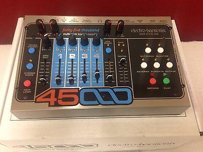 Electro-Harmonix 45000 Multi-Track Looping Guitar Live Looper Recorder Mixer