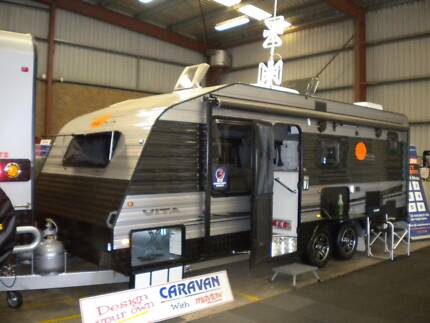 NOVA VITA WORKABOUT NEW 2015 20 FT CARAVAN Northfield Port Adelaide Area Preview