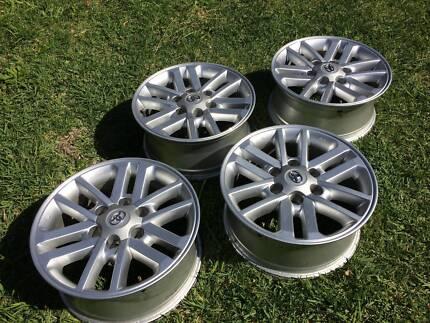 "Toyota Hilux 2014 SR5 Genuine 17"" Wheels"