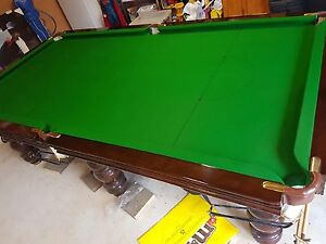 Custom made pool table Kallangur Pine Rivers Area Preview