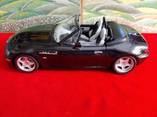1/18 Scale Burago BMW M3 Roadster Metallic Black Nice Condition