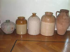 5 pottery urns Woolloomooloo Inner Sydney Preview