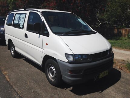 1997 Mitsubishi Starwagon GL Campervan or Tradies Van 166Kms Auto Narrabeen Manly Area Preview