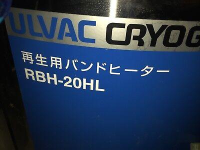 Ulvac Cryogenic Cryopump Rbh-20hl 20 Inch Cryo Vacuum Pump