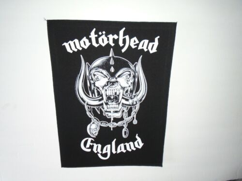MOTORHEAD ENGLAND PRINTED BACK PATCH
