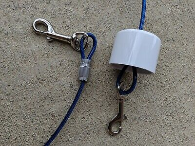 Chew proof, door friendly tie down for your dog or puppy. Best training tool!