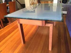 Italian Extension dining table - glass top Willoughby Willoughby Area Preview